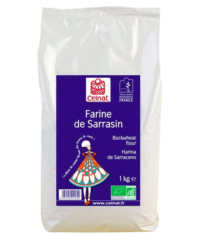 Farine de sarrasin BIO, Celnat (500 g)