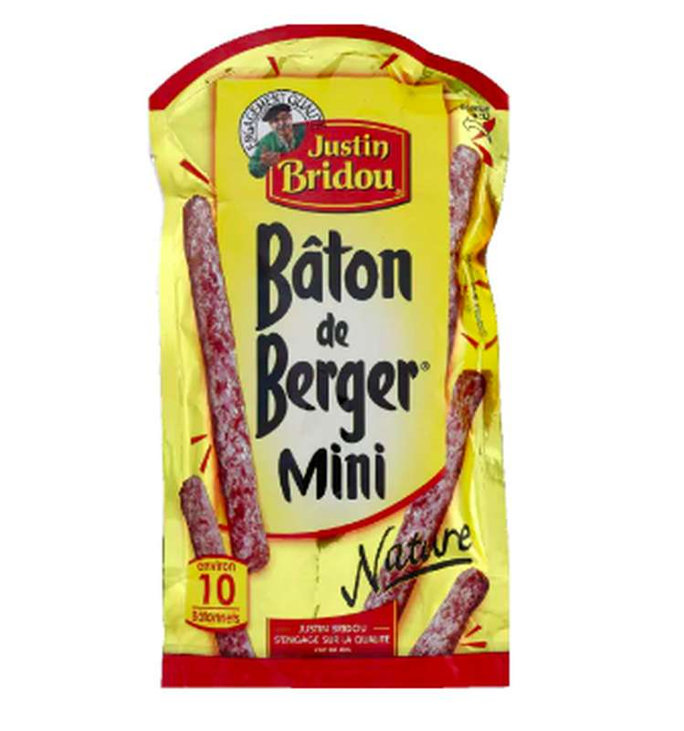 Mini Bâtons de berger, Justin Bridou (100 g)