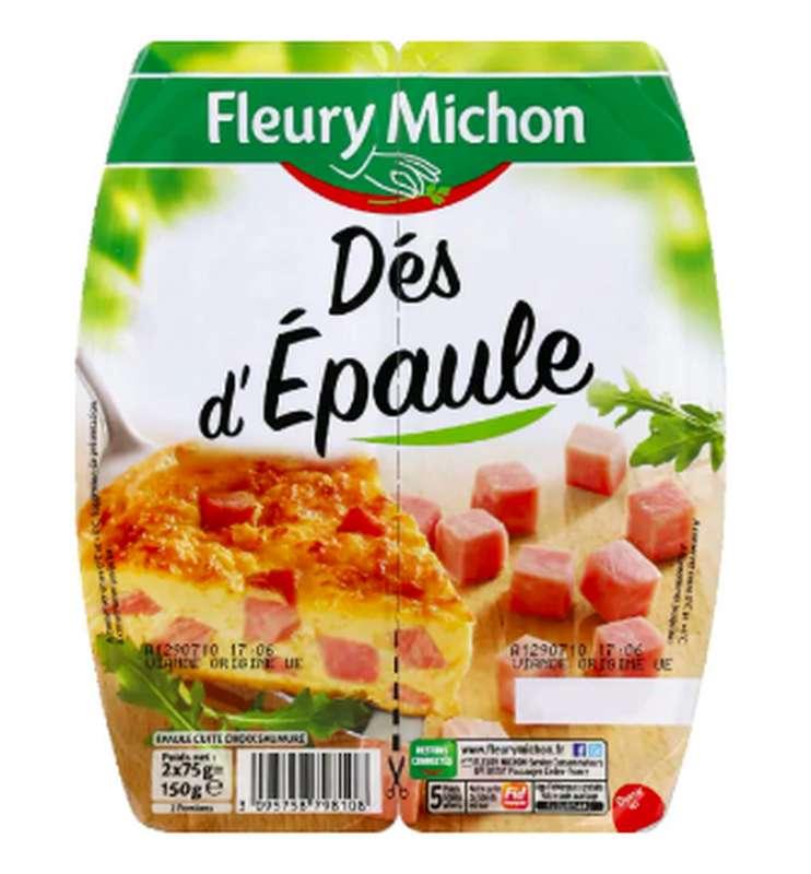 Dés d'épaule, Fleury Michon (2 x 75 g)