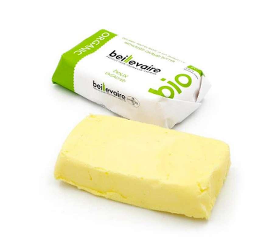 Beurre artisanal doux BIO, Beillevaire (125 g)