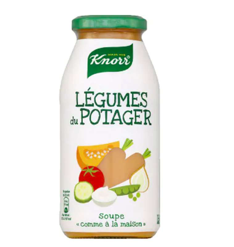 Soupe Légume du potager, Knorr (45 cl)