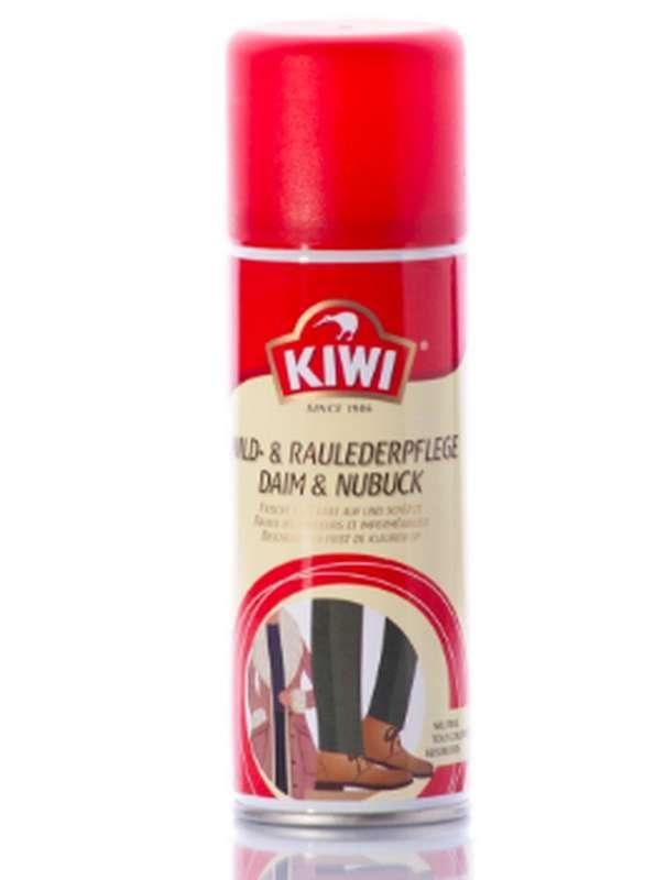 Bombe Daim et Nubuck noir rénovateur, Kiwi (200 ml)