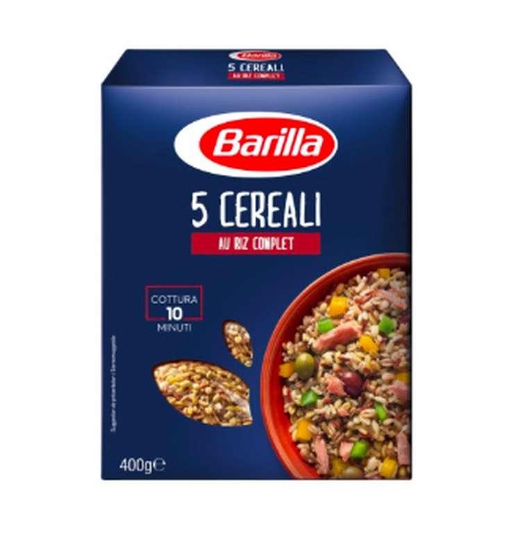 5 céréales au riz complet 10 minutes, Barilla (400 g)