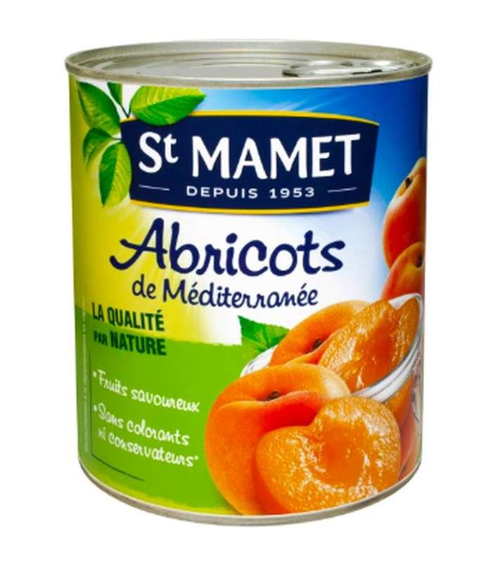 Abricots au sirop, St Mamet (410 g)