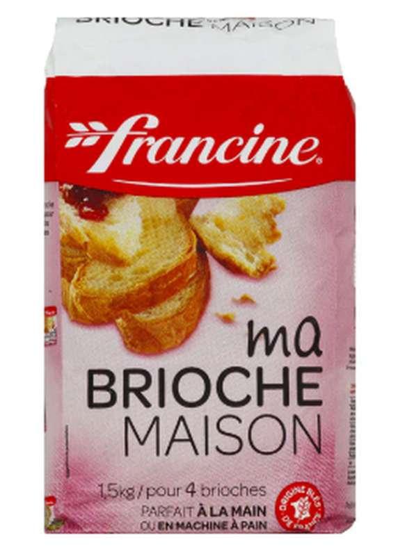 Préparation pour brioche maison, Francine (1.5 kg)