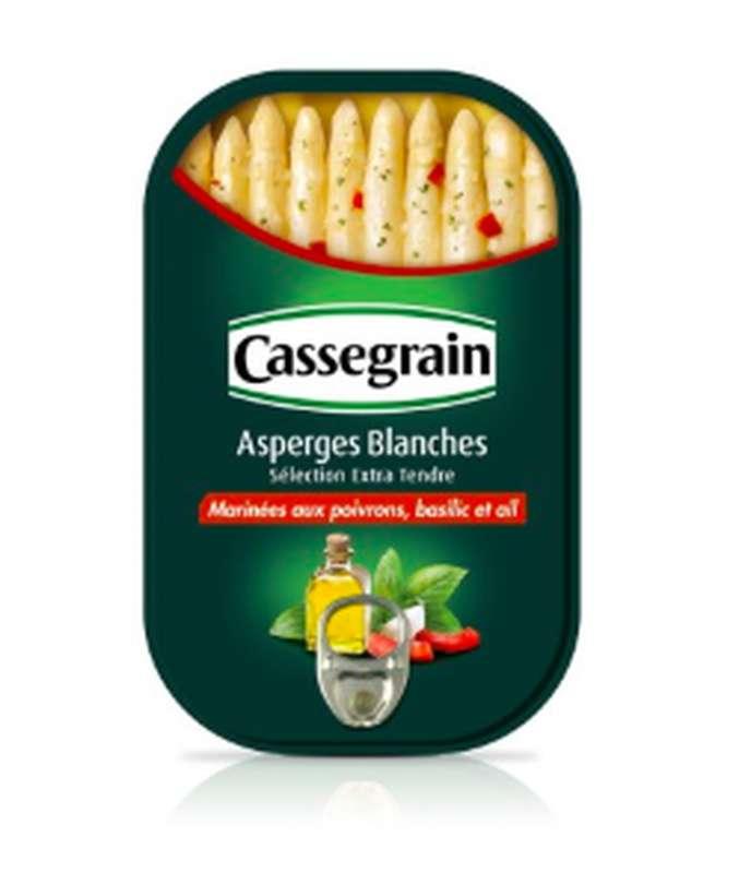 Asperges blanches marinées, Cassegrain (130 g)