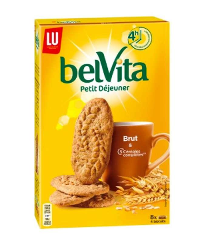 Belvita Petit déjeuner  brut de céréales, Lu (400 g)