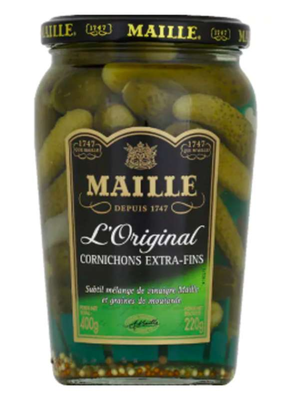 Cornichons extra-fins, Maille (220 g)
