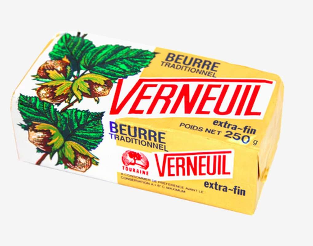 Beurre doux, Verneuil (250 g)
