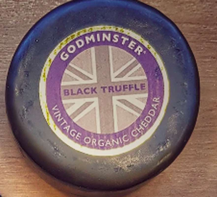 Cheddar Godminster BIO Truffe noire, Wyke Farms Wyke (200 g)