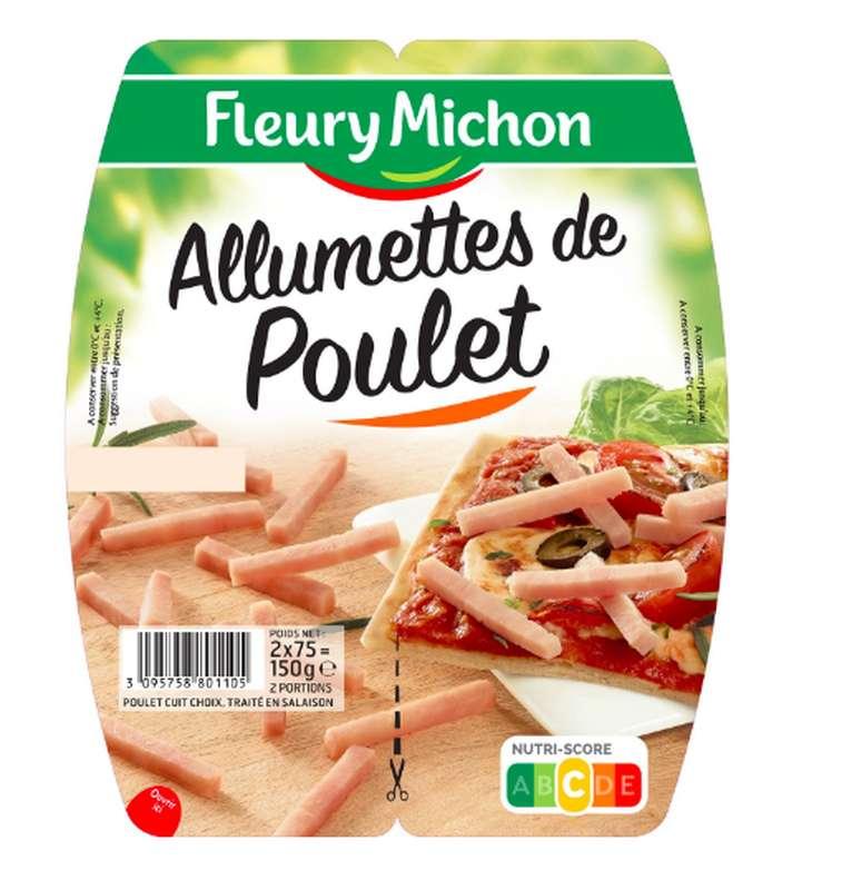 Allumettes de poulet, Fleury Michon (2 x 75 g)