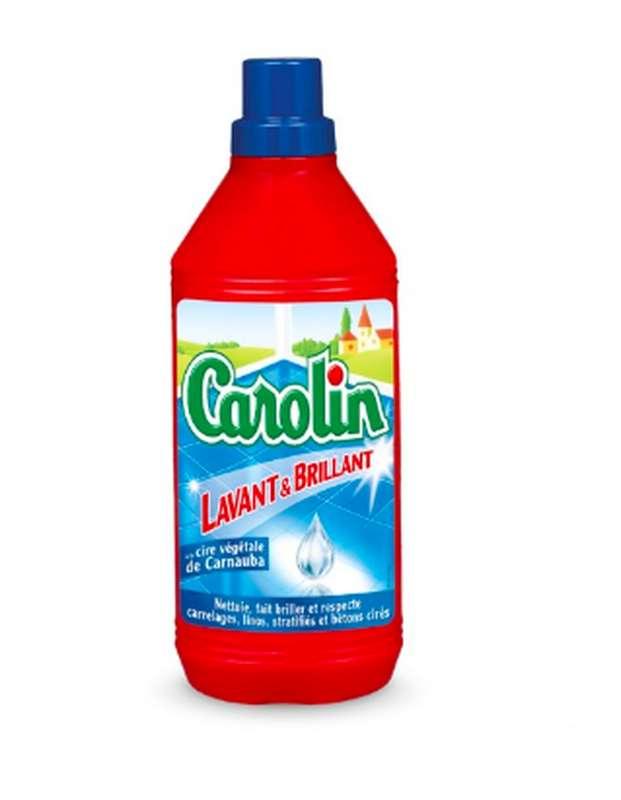 Nettoyant ménager lavant et brillant, Carolin (1 L)
