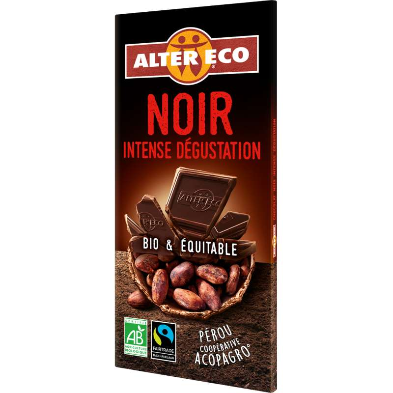 Chocolat noir Intense BIO, Alter Eco (100 g)