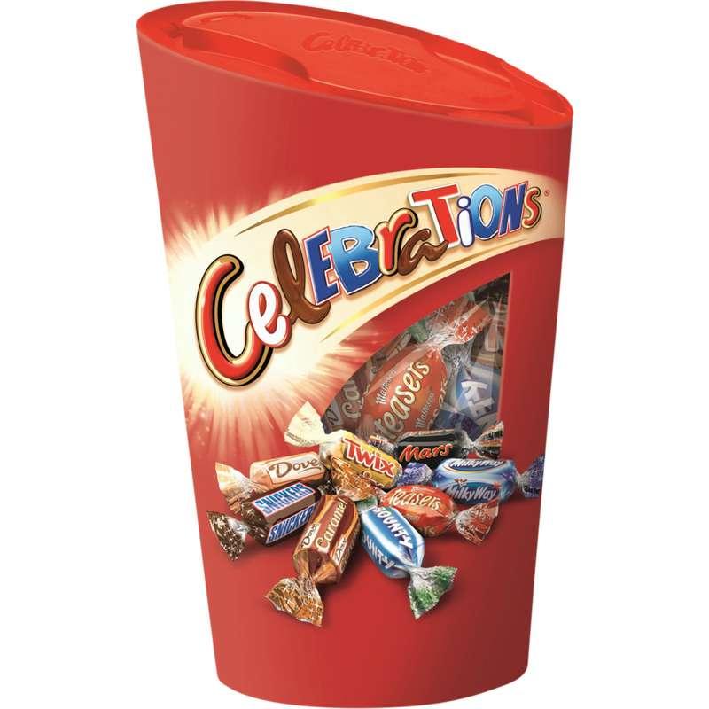 Chocolats assortis ballotin, Célébrations (280 g)