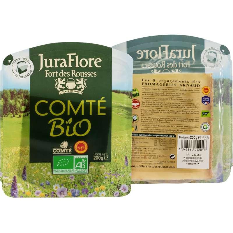 Comté AOP au lait cru BIO, Juraflore (200 g)