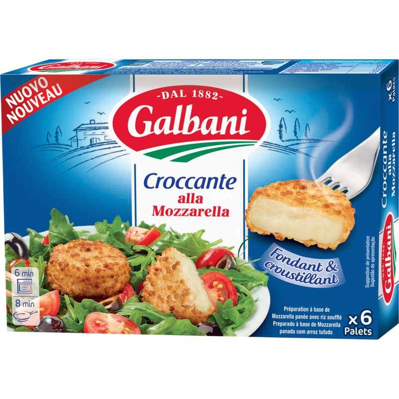 Croccante alla mozzarella, Galbani (x 6, 150 g)