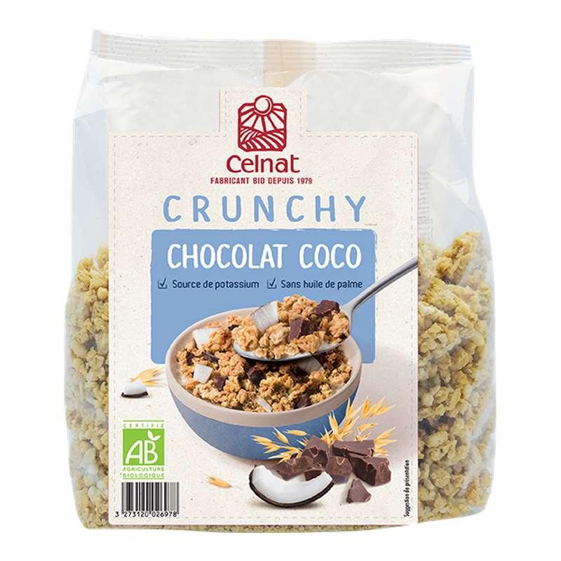 Crunchy chocolat coco BIO, Celnat (500 g)