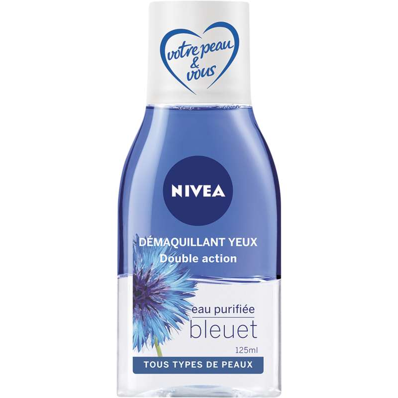 Démaquillant yeux waterproof bi-phase, Nivea (125 ml)