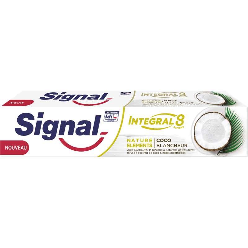 Dentifrice Intégral 8 Coco Blancheur, Signal (75 ml)