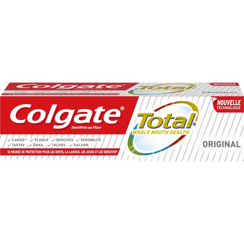 Dentifrice Total original, Colgate (75 ml)
