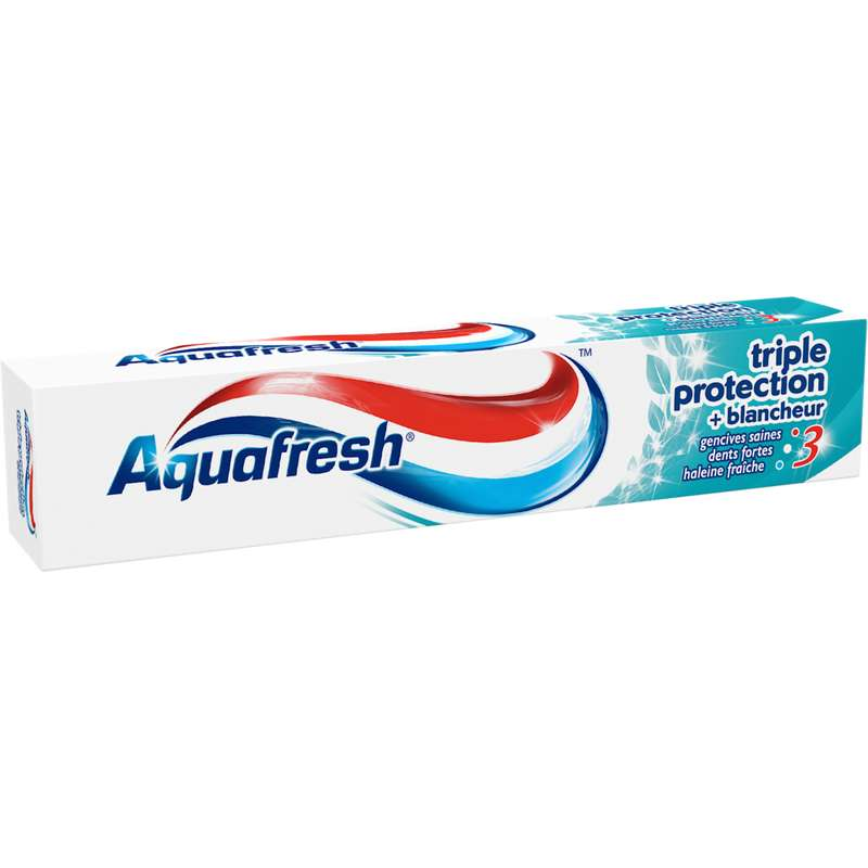 Dentifrice Triple Protection Blancheur, Aquafresh (75 ml)