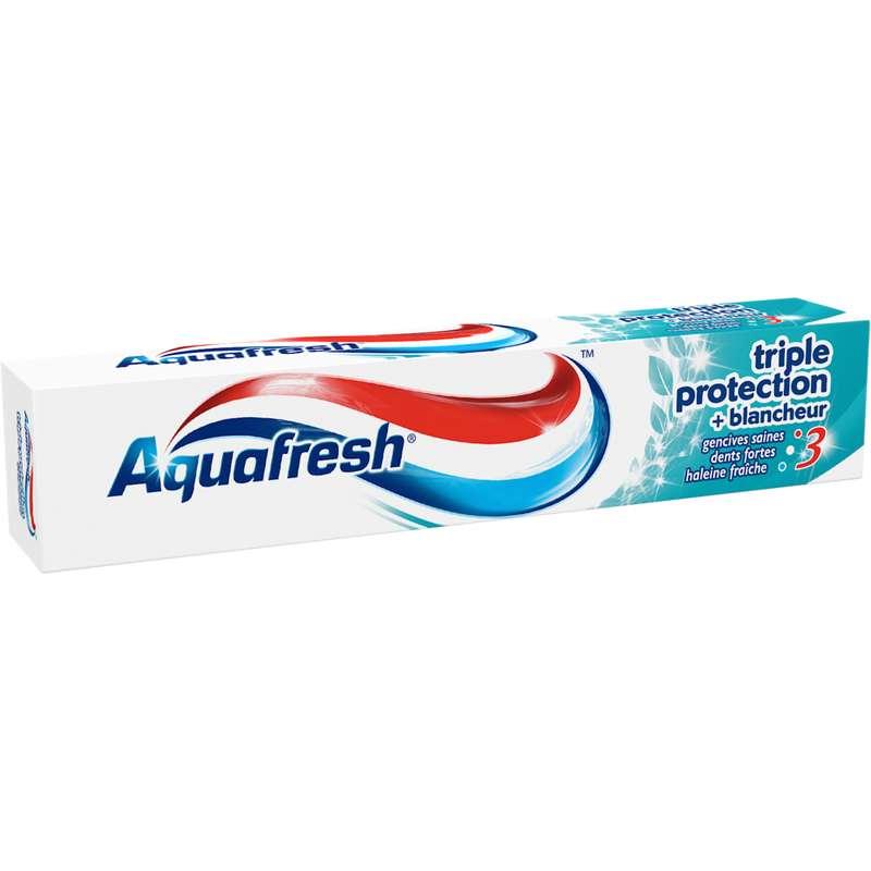 Dentifrice Triple Protection Blancheur, Aquafresh (75 ml)