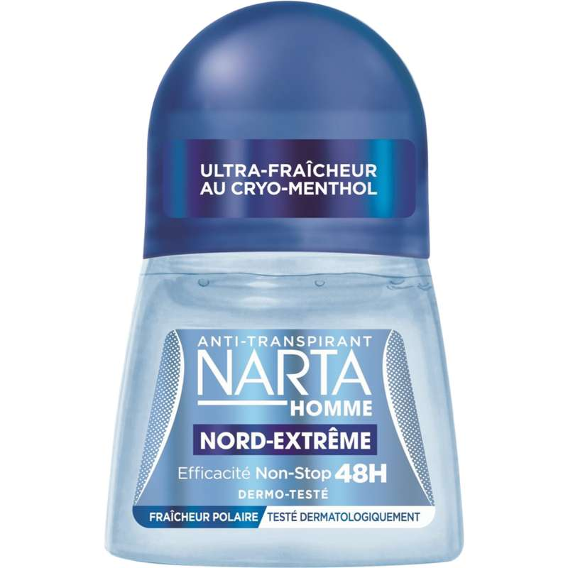 Déodorant bille Nord-extrême pour homme, Narta (50 ml)