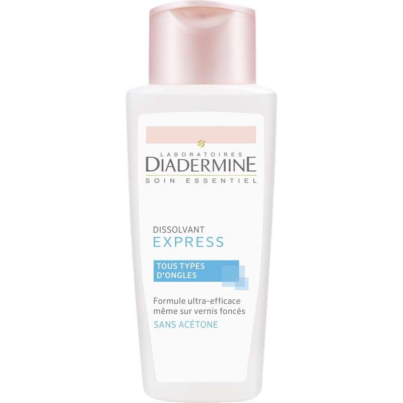 Dissolvant express pour les ongles, Diadermine (125 ml)