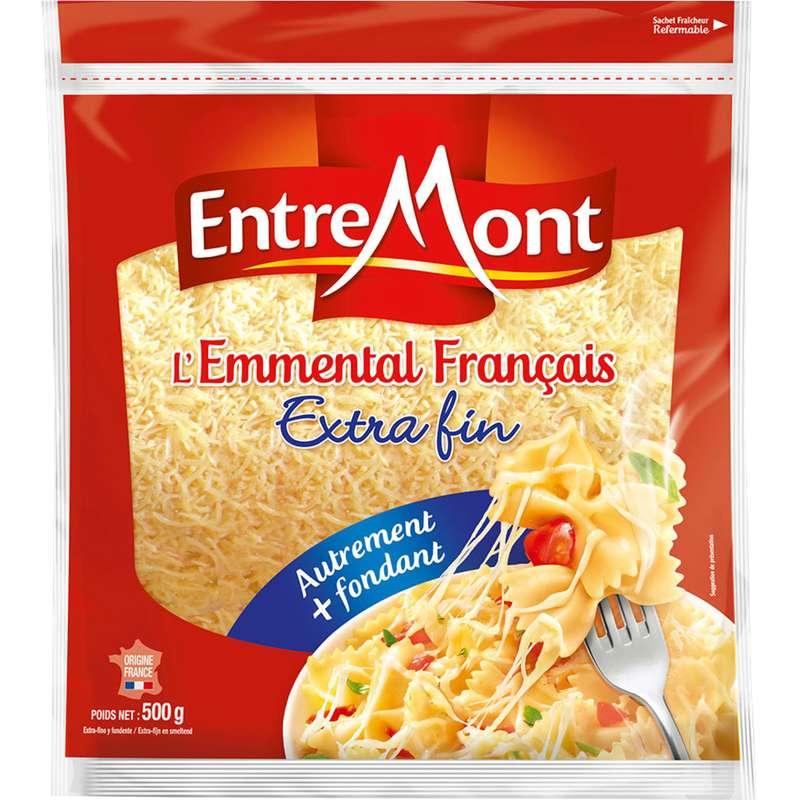 Emmental français râpé Extra fin, Entremont (500 g)