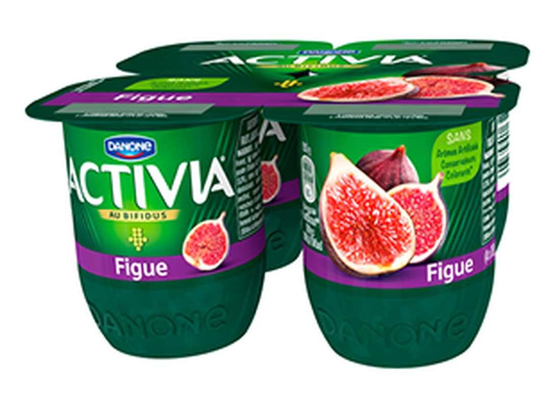 Yaourt au bifidus aux figues, Activia (4 x 125 g)