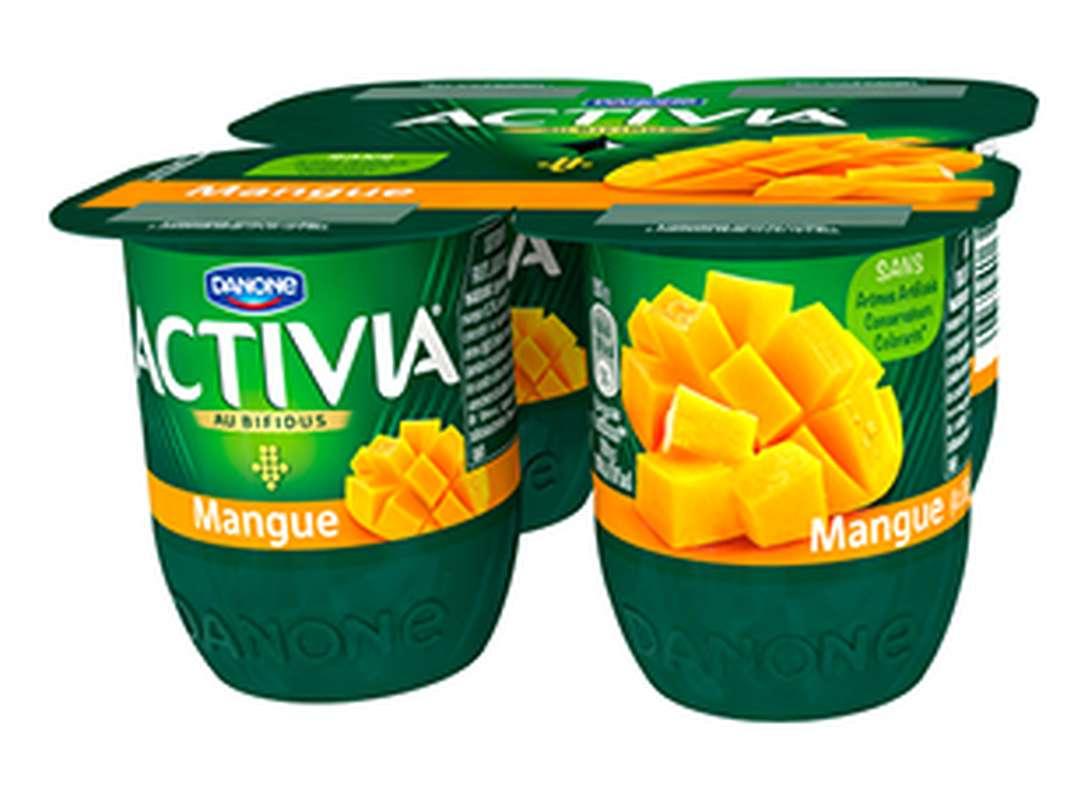 Yaourt Mangue Activia (4 x 125 g)