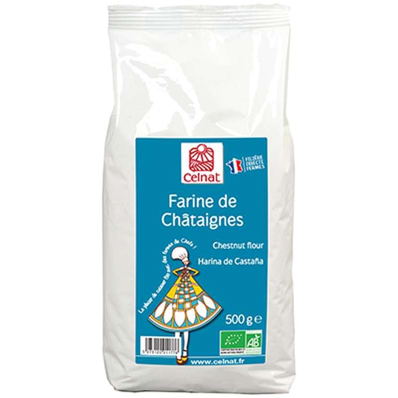 Farine de châtaignes Fr. BIO, Celnat (500 g)