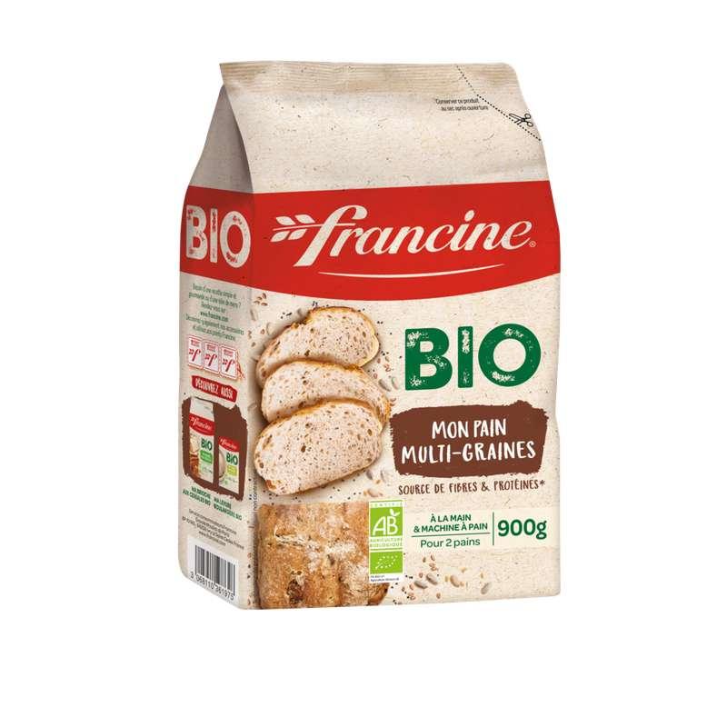 Farine pour pain multigrain BIO, Francine (900 g)