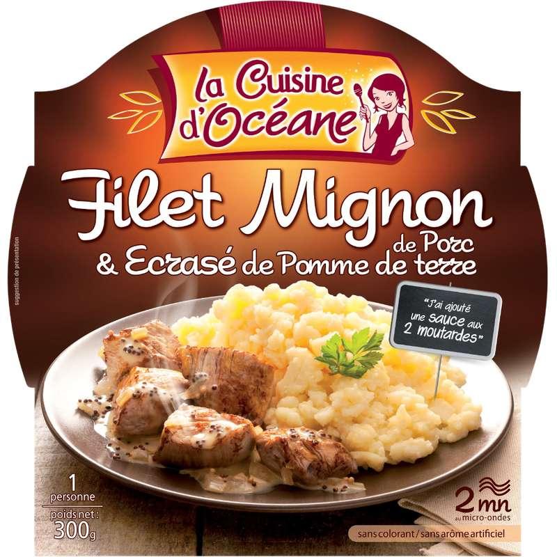 Filet mignon de porc et écrasé de pomme de terre, La Cuisine d'Océane (300 g)