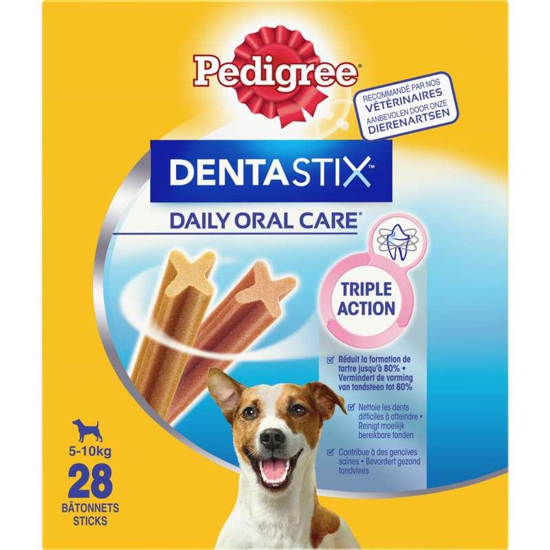 Friandise Dentastix pour chiots et petits chients, Pedigree (x 28, 440 g)