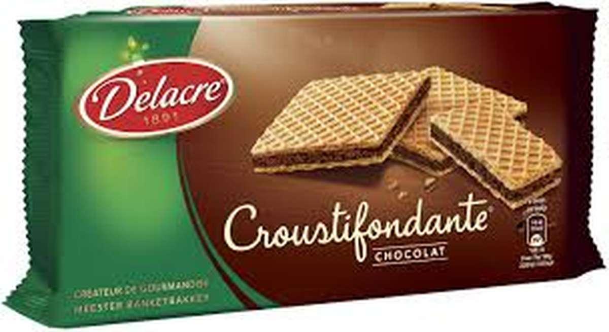 Gaufrettes chocolat, Delacre (150 g)