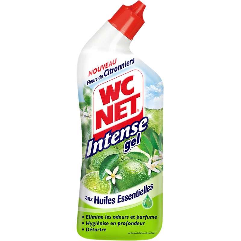 Gel détartrant senteur fleurs de citronnier aux huiles essentielles, WC Net Intense (750 ml)