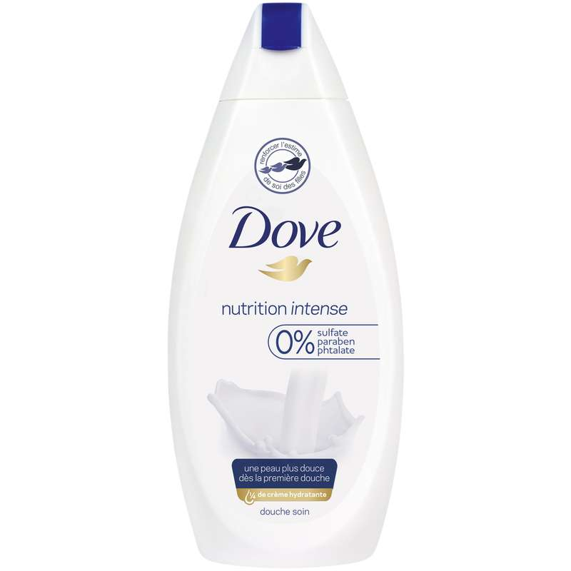 Gel douche nutrition intense, Dove (400 ml)