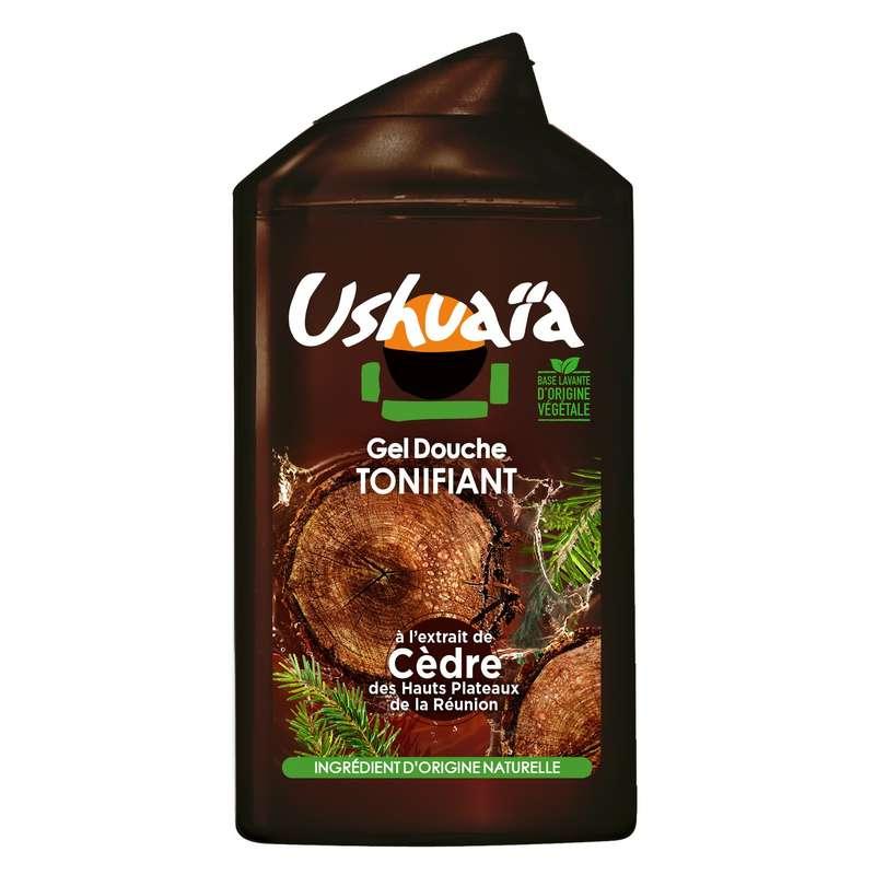 Gel douche tonifiant à l'extrait de cèdre, Ushuaia (250 ml)