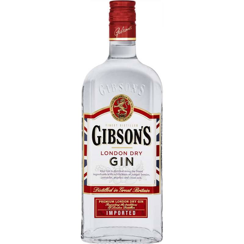 Gin London Dry, Gibson's (70 cl)