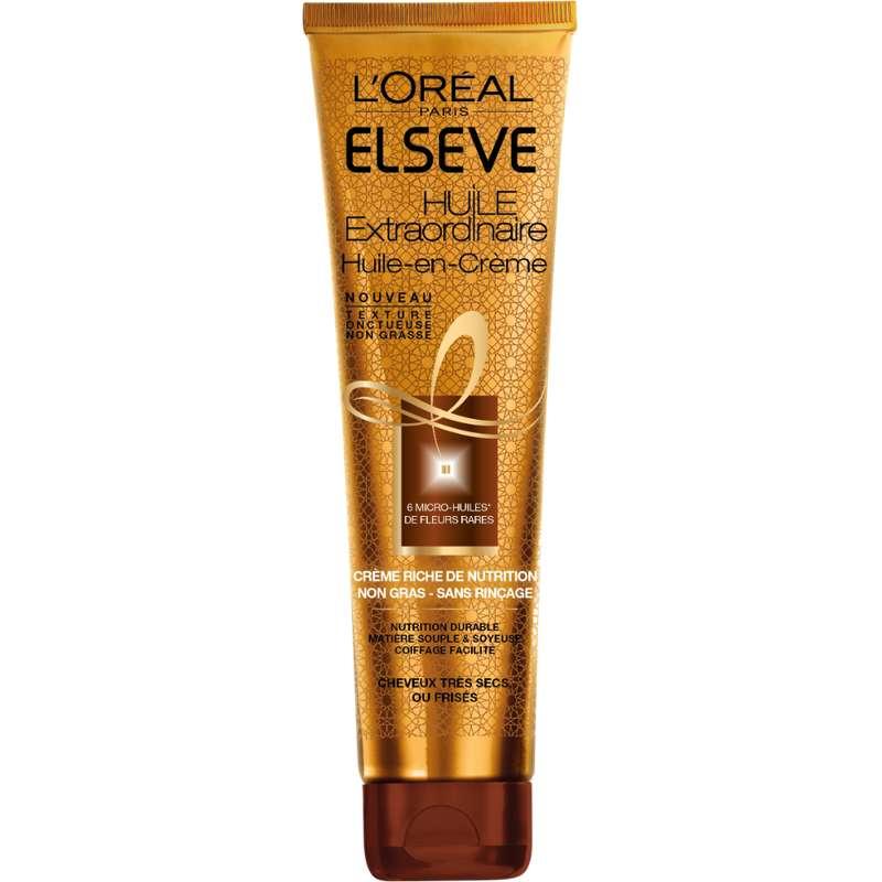Huile extraordinaire huile en crème cheveux très secs, Elseve (150 ml)