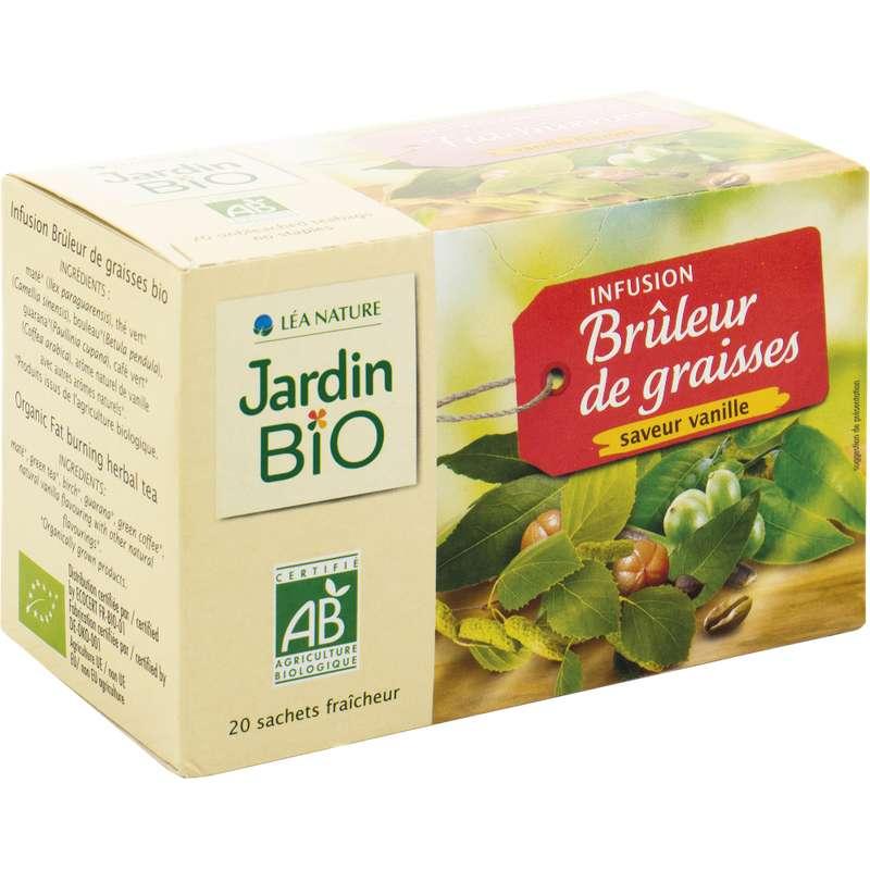 Infusions Brûleur BIO, Jardin Bio (20 sachets)