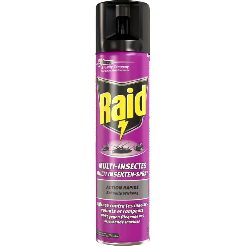 Insecticide Multi-insectes, Raid (400 ml)