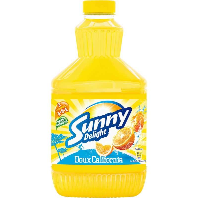 Jus aux fruits frais doux California, Sunny Delight (1,25 L)