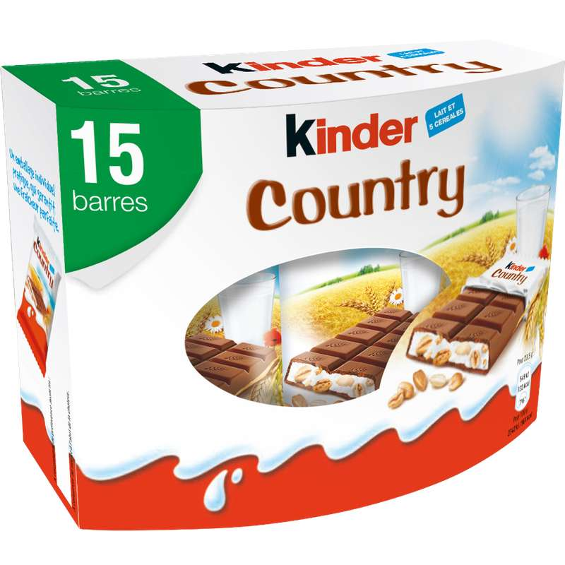 Kinder Country (x 15, 352 g)