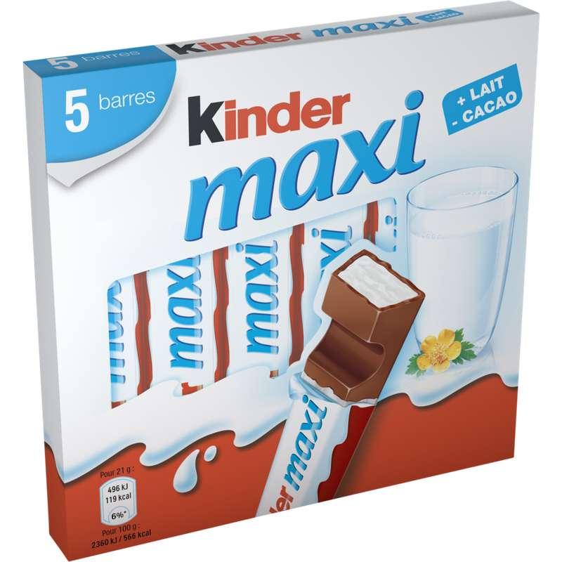 Kinder Maxi (x 5, 105 g)