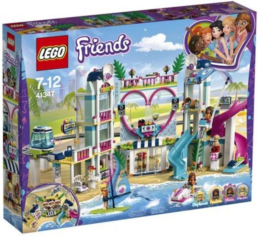 Le complexe touristique d'heartlake city, Lego