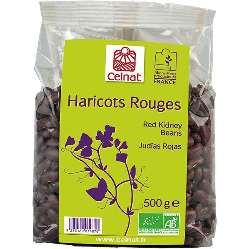 Haricots rouges secs BIO, Celnat (500 g)