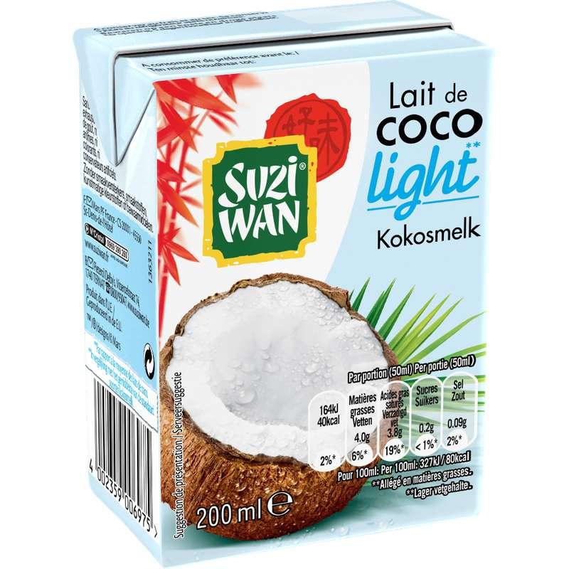 Lait de Coco light, Suzi Wan (20 cl)