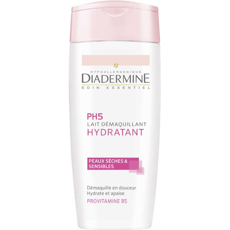 Lait démaquillant hydratant, Diadermine (200 ml)